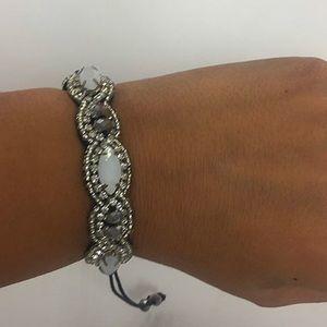 Jewelry - Handmade Artisan Macrame Beaded Bracelet, NWT